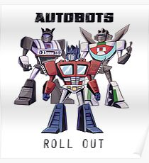 Autobots: Roll Out Poster