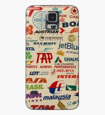 AIRLINES Case/Skin for Samsung Galaxy