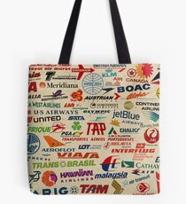 AIRLINES Tote Bag
