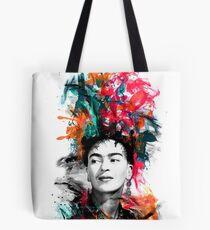 Frida Kahlo colours  Tote Bag