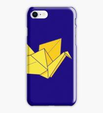 Yellow Paper Crane iPhone Case/Skin