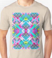 Colorful digital art splashing G481 Unisex T-Shirt