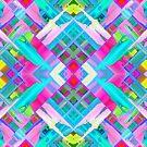 Colorful digital art splashing G481 by MEDUSA GraphicART