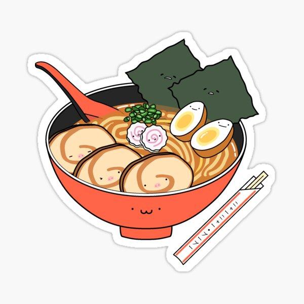 CUTE RAMEN - PIGU Sticker
