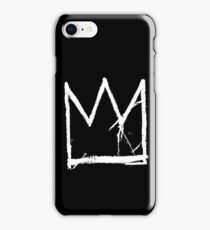 Basquiat King Crown Black iPhone Case/Skin