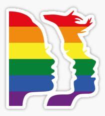 Women's March Global x Pride Sticker