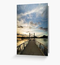 Lake Dunethan Greeting Card