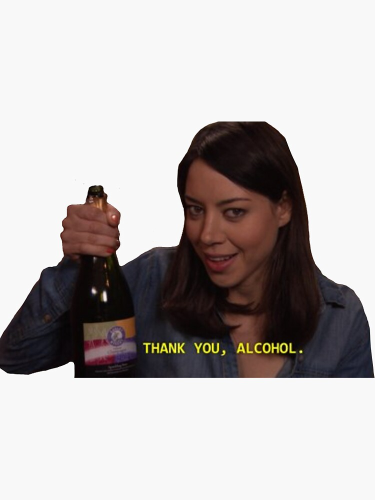 thank you alcohol  by bellpitkin