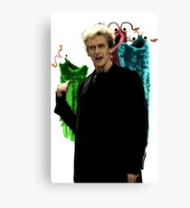 You Call These Martians? Canvas Print
