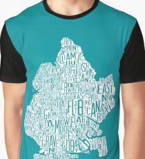 Brooklyn Map Graphic T-Shirt