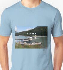 Alaska: Float plane, Trail Lake 2 Unisex T-Shirt