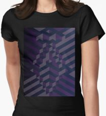 Purple Darkness Womens Fitted T-Shirt