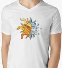 The Sun, The Moon, and The Stars Men's V-Neck T-Shirt