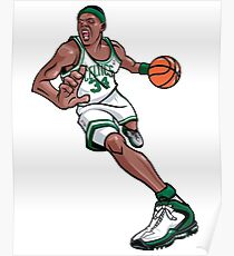 Paul Pierce Celtics Art Poster
