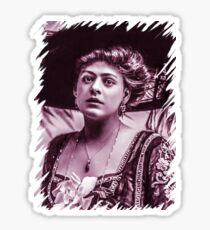 Ethel Barrymore old theme Sticker