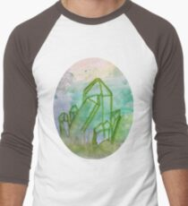 Water Crystal of Serenity Men's Baseball ¾ T-Shirt