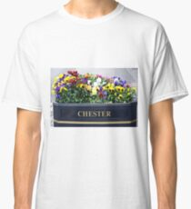 Chester, England, flower box Classic T-Shirt