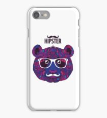 hipster art - Panda new style / Panda art iPhone Case/Skin