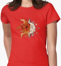 The Sun, The Moon, and The Stars Womens Fitted T-Shirt
