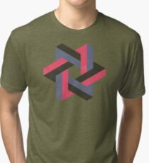 Unified Penrose Triangle Tri-blend T-Shirt