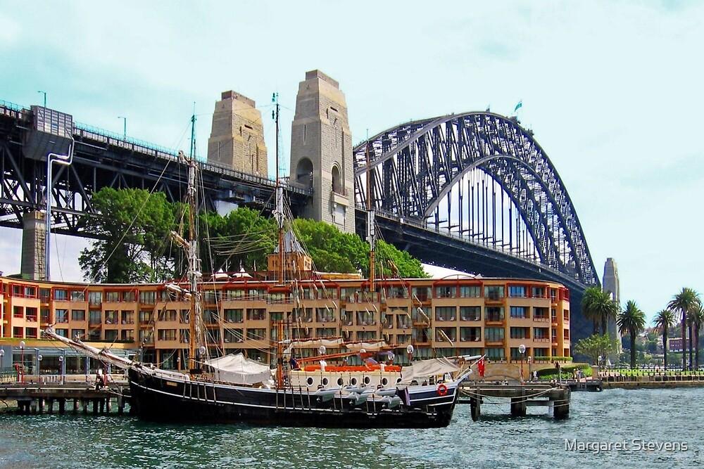 Sydney Harbour by Margaret Stevens