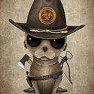 Baby Seelöwe Zombie Hunter von jeff bartels