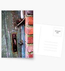 Old Door Postcards