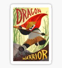 Kung Fu Panda Dragon Warrior Sticker