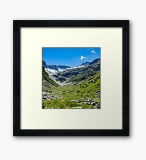 """Vallon des  Etages"" Framed Print"