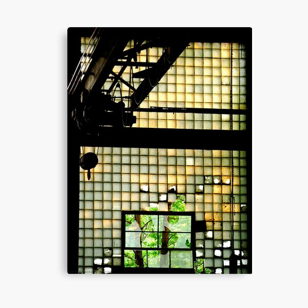 Industrial Glass Canvas Print