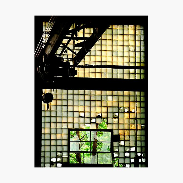 Industrial Glass Photographic Print