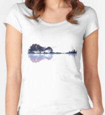 Nature Guitar Women's Fitted Scoop T-Shirt