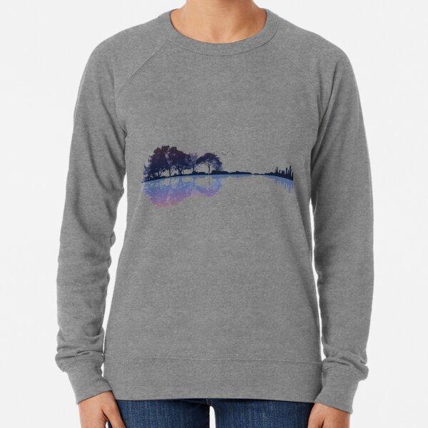 Nature Guitar Lightweight Sweatshirt