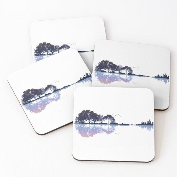 Nature Guitar Coasters (Set of 4)