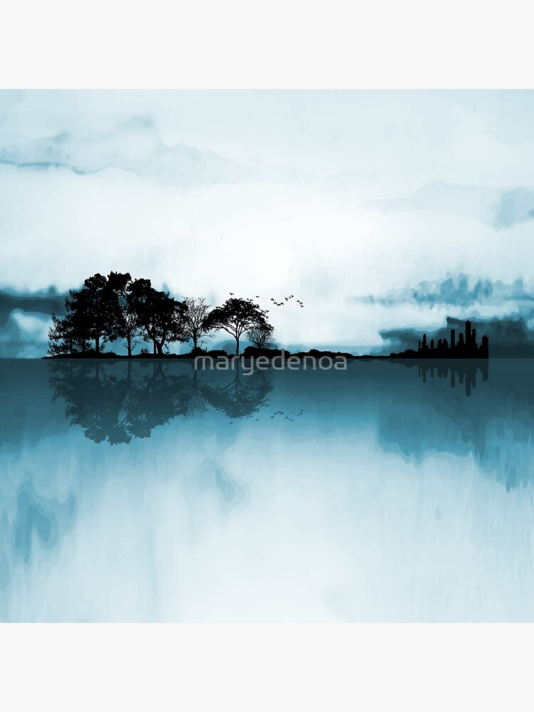 Nature Guitar Blues by maryedenoa