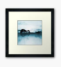 Nature Guitar Blues Framed Print