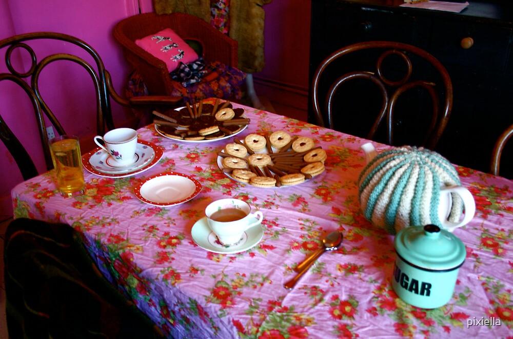 Tea Party by pixiella