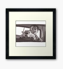 Don't Drive Angry Framed Print