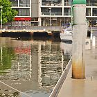 Reflections in a Marina by kalaryder