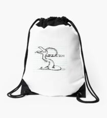 bleh Drawstring Bag