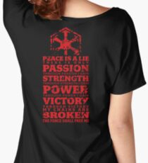 Code of the Sith Women's Relaxed Fit T-Shirt