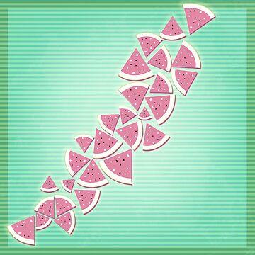 Geometric Melon by KitsuneDesigns