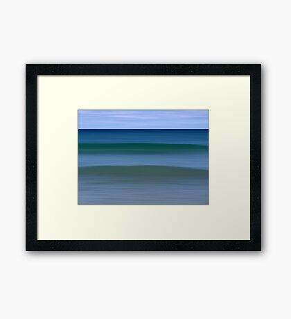Aquamarine Framed Print