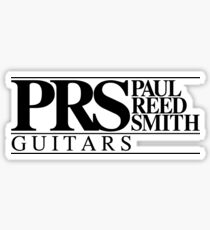 2. PRS Guitars Logo. Sticker
