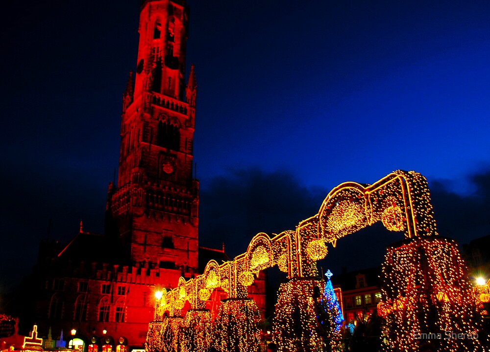 Bright lights of Brugge by Emma Sherab