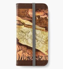 Ancient maps iPhone Wallet/Case/Skin