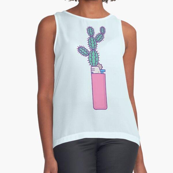 Succulent Lighter Sleeveless Top