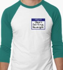 "Fight Club- ""I AM JACK'S SMIRKING REVENGE"" Men's Baseball ¾ T-Shirt"