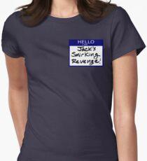 "Fight Club- ""I AM JACK'S SMIRKING REVENGE"" Womens Fitted T-Shirt"