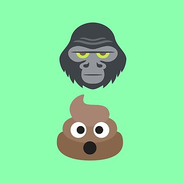 Ape Shit ~ Emoji by itsyou